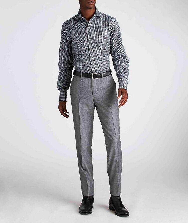 Classic Fit Plaid Dress Shirt image 4