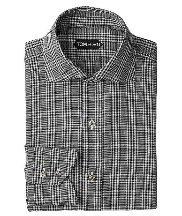 Classic Fit Plaid Dress Shirt image 0