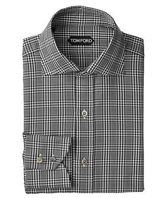 TOM FORD Classic Fit Plaid Dress Shirt