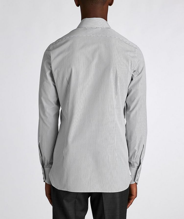 Slim Fit Striped Dress Shirt image 2
