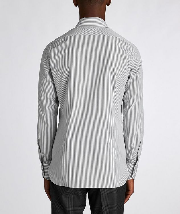 Slim Fit Striped Dress Shirt picture 3