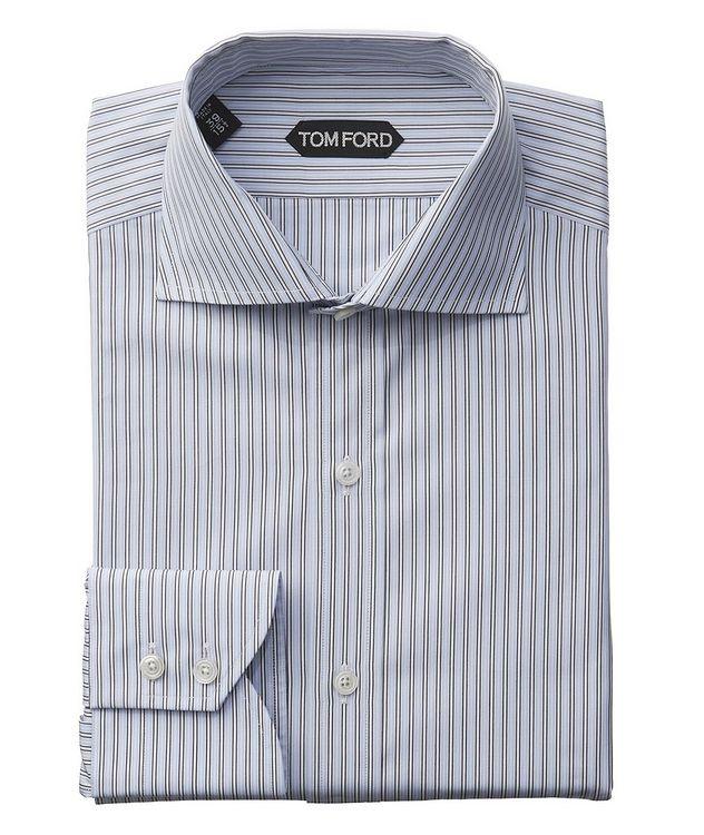 Chemise habillée à rayures de coupe amincie picture 1