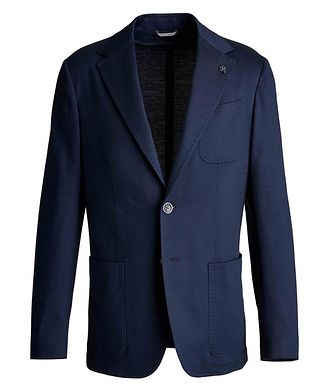 Canali Unstructured Cotton Sports Jacket