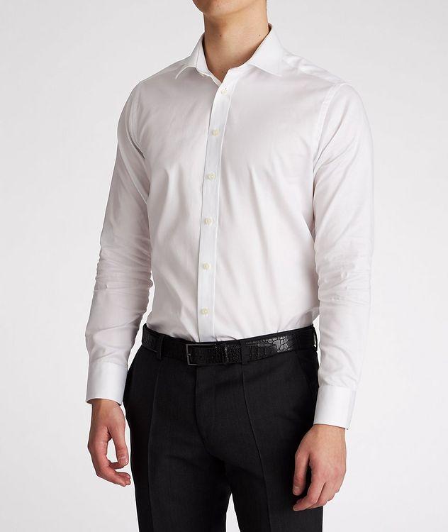Chemise habillée en coton de coupe amincie picture 2