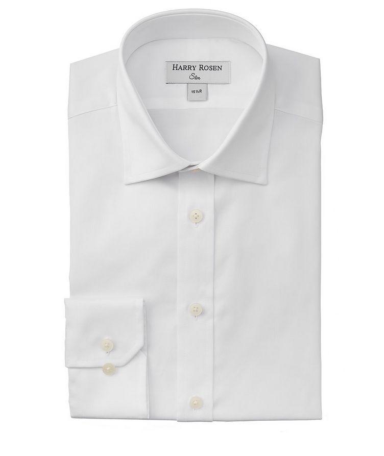 Chemise habillée en coton de coupe amincie image 0
