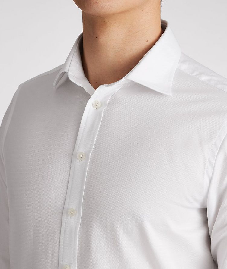 Slim-Fit Cotton Dress Shirt image 3