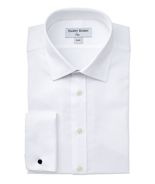 Slim-Fit French Cuff Dress Shirt picture 1