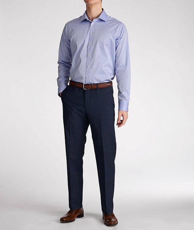 Chemise habillée en coton de coupe amincie picture 5