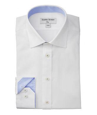Harry Rosen Chemise habillée en coton de coupe amincie