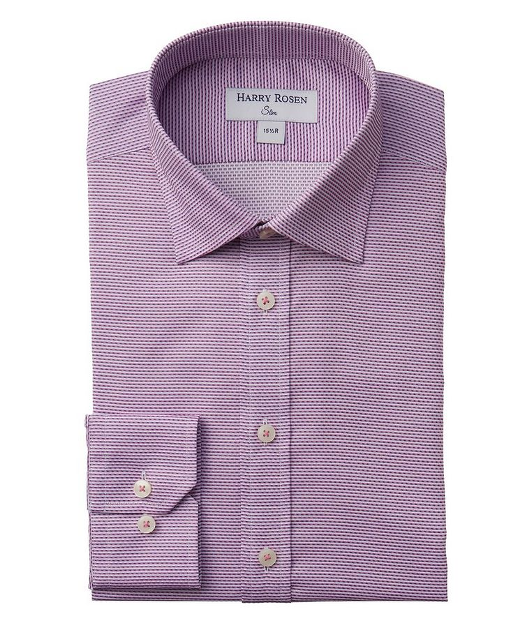 Contemporary Fit Textured Dress Shirt image 0