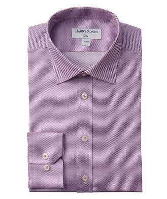 Harry Rosen Contemporary-Fit Textured Dress Shirt
