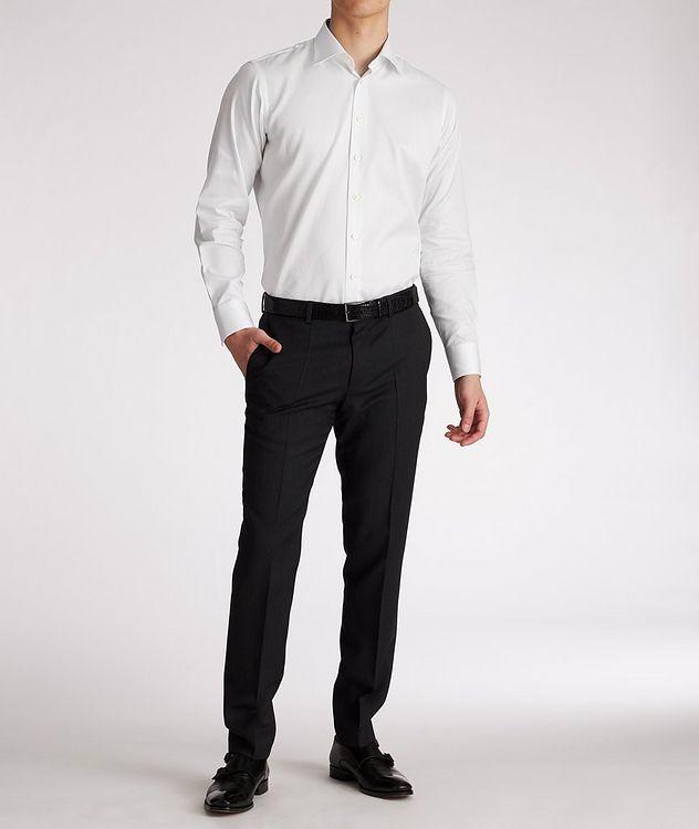 Contemporary-Fit Cotton Dress Shirt picture 5