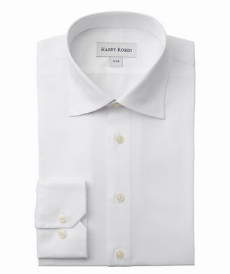Harry Rosen Contemporary-Fit Cotton Dress Shirt