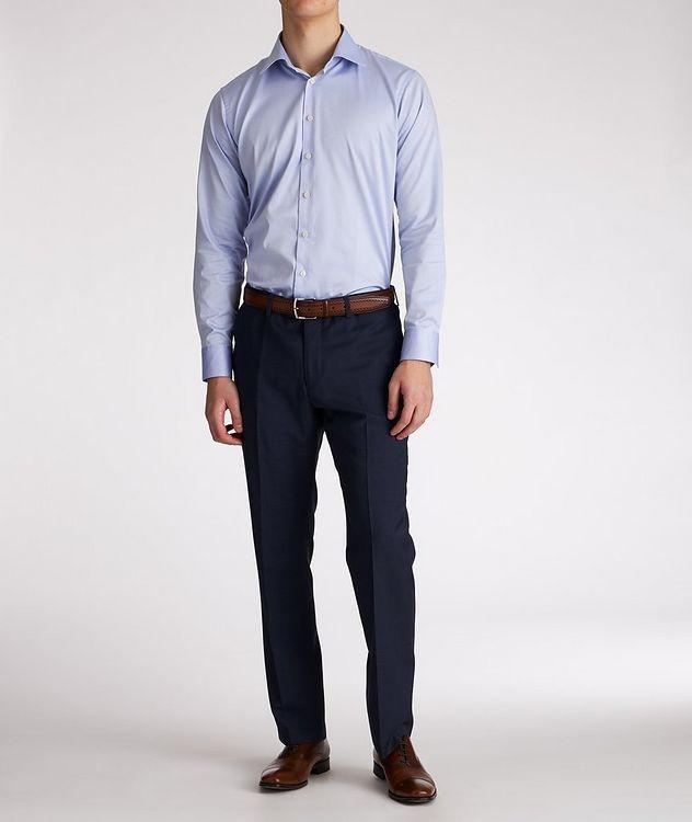 Slim-Fit Cotton Dress Shirt picture 5