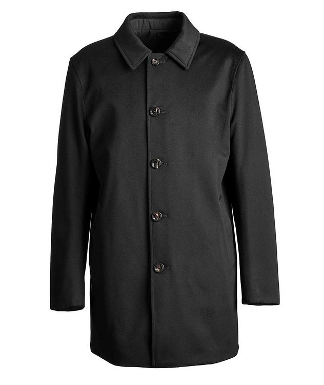 Reversible Green Storm System Coat picture 1