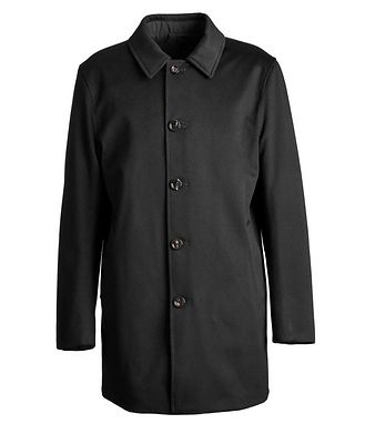 Harry Rosen Reversible Green Storm System Coat