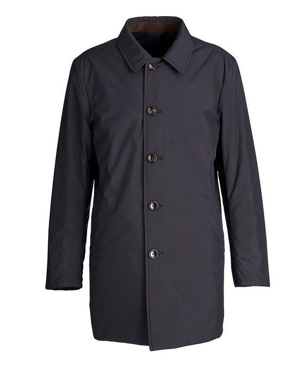 Gofreddo Reversible Wool-Silk Rain Coat picture 4