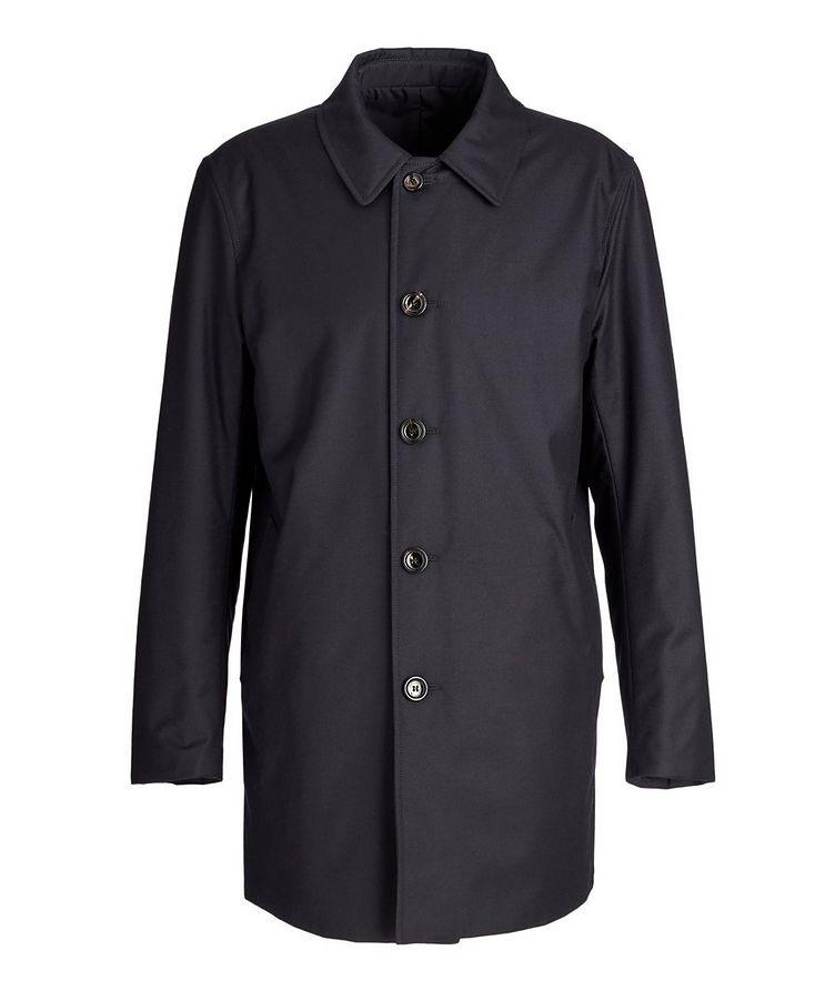 Gofreddo Reversible Wool-Silk Rain Coat image 0