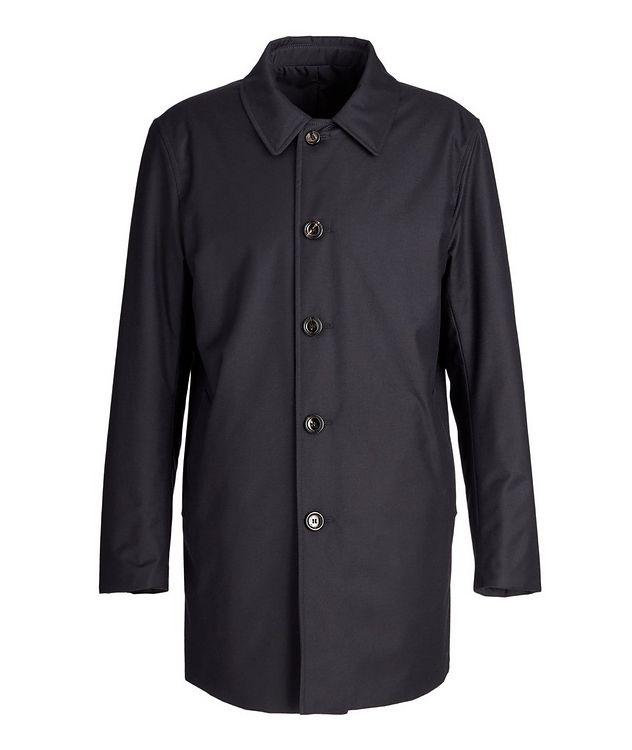 Gofreddo Reversible Wool-Silk Rain Coat picture 1