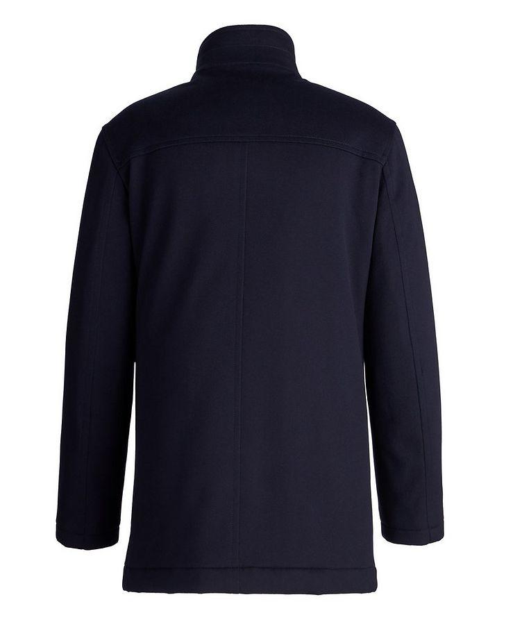 Gianni New Double Collar Wool Jacket image 1