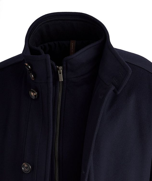 Gianni New Double Collar Wool Jacket picture 3