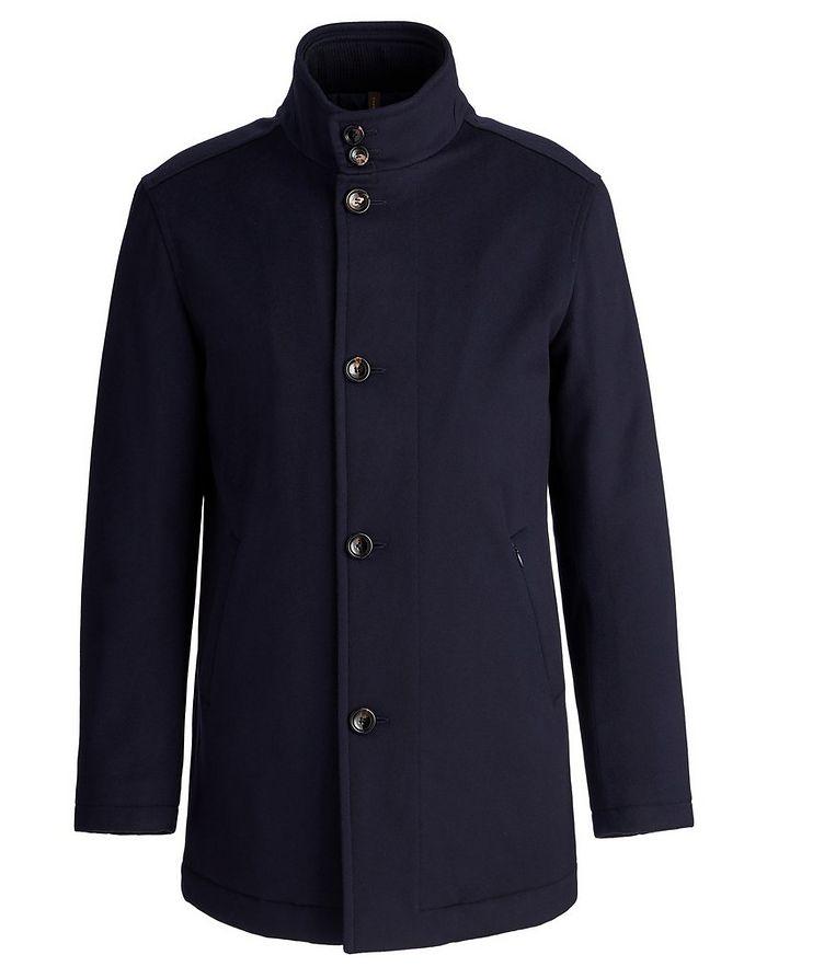 Gianni New Double Collar Wool Jacket image 0