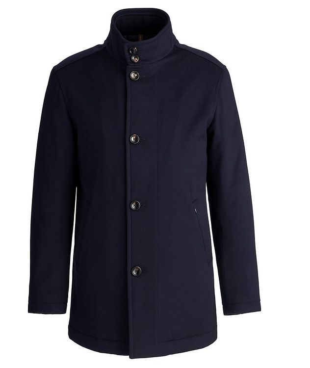 Gianni New Double Collar Wool Jacket picture 1
