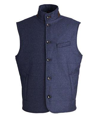 Harry Rosen Torino Quilted Wool-Cashmere Vest