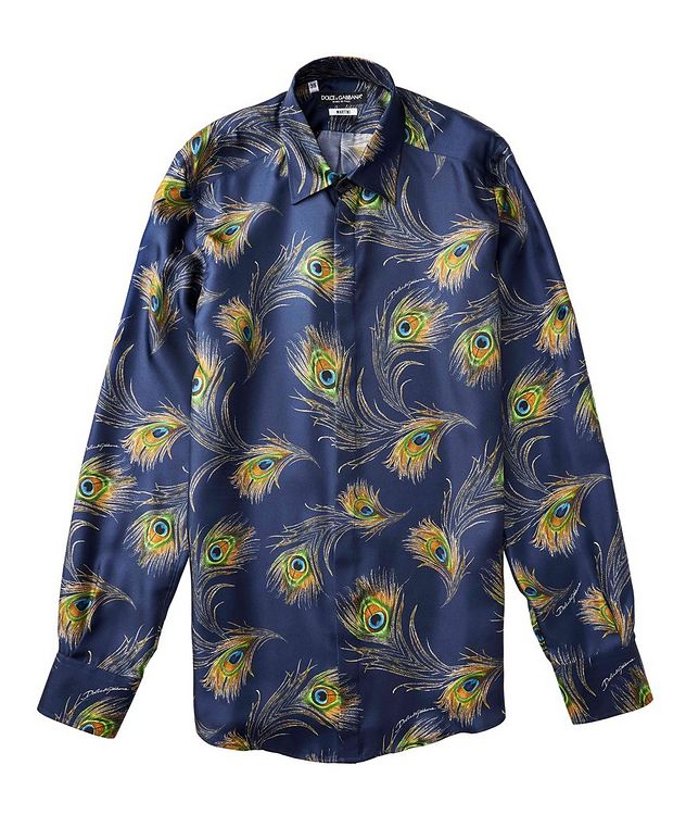 Printed Silk Shirt picture 2