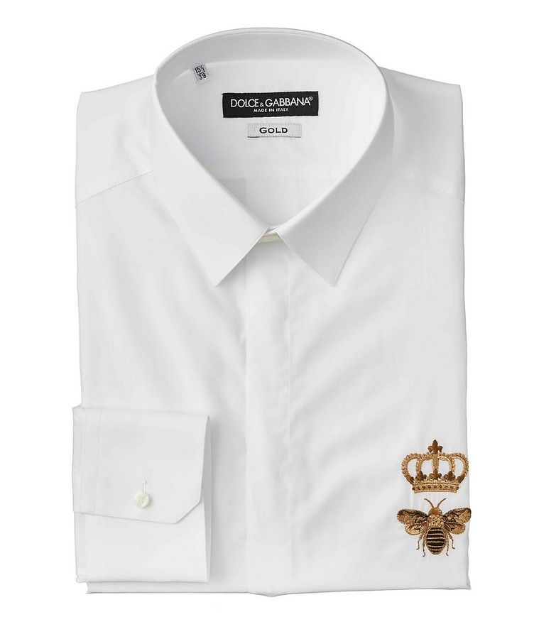 Embroidered Cotton Shirt image 0