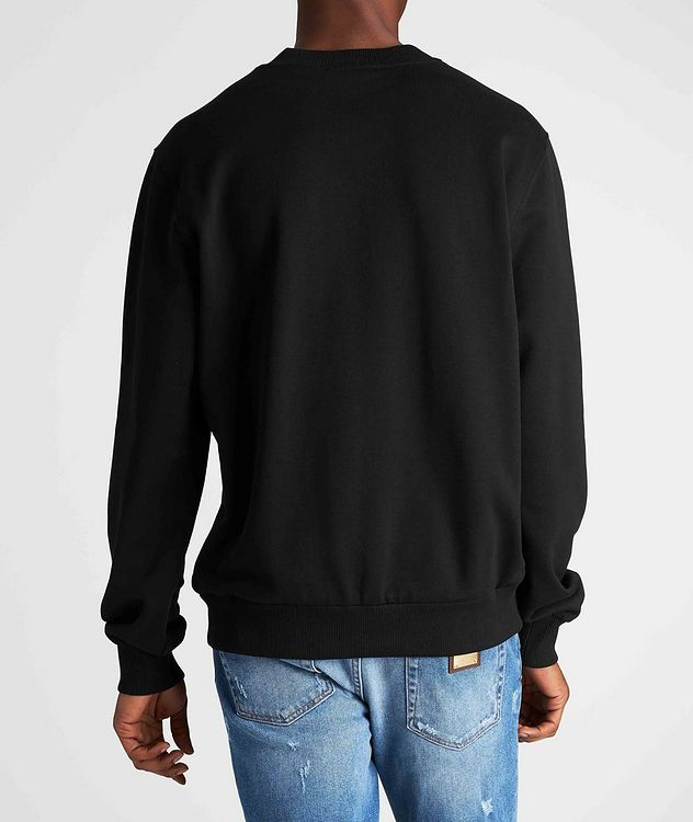 Embroidered Cotton Sweatshirt picture 3