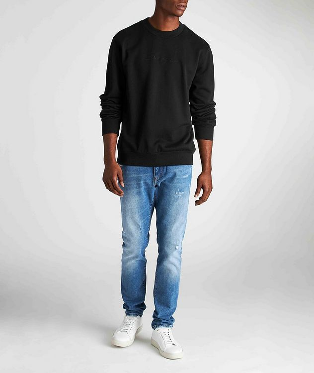 Embroidered Cotton Sweatshirt picture 5