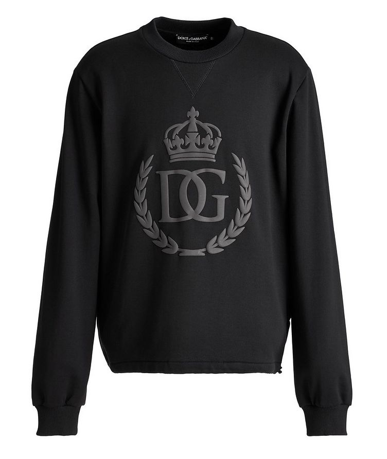 Embossed Crown Sweatshirt image 0