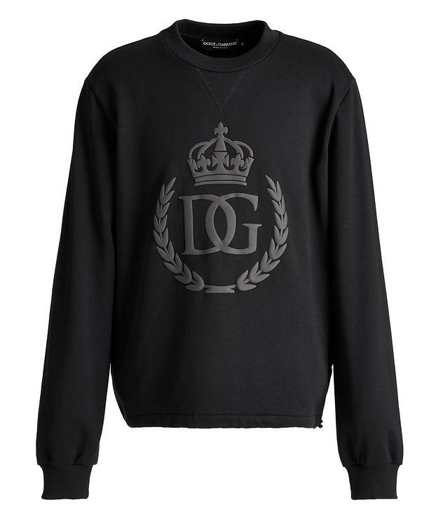 Embossed Crown Sweatshirt picture 1