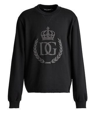 Dolce & Gabbana Pull à détail de couronne