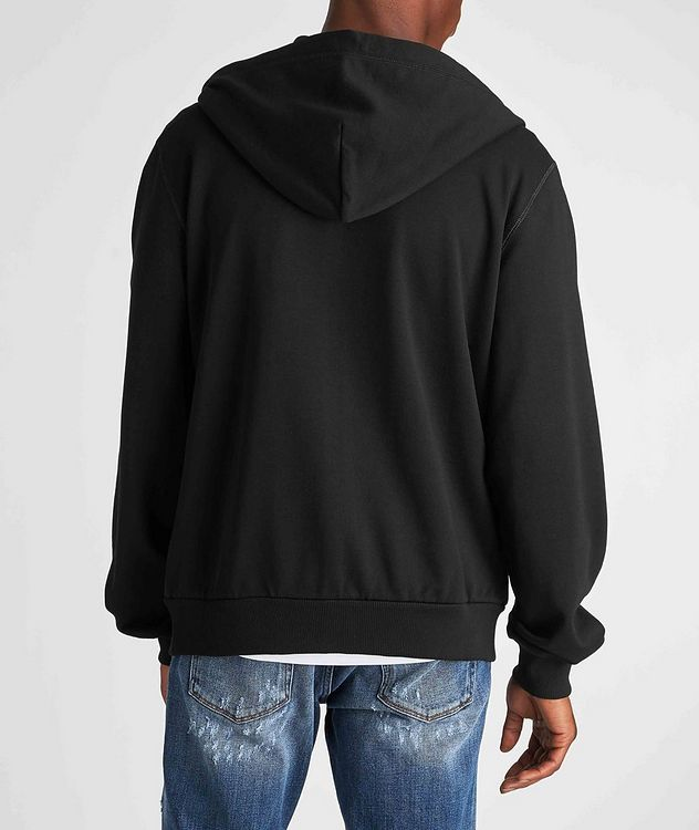 Zip-Up Cotton Hoodie picture 3