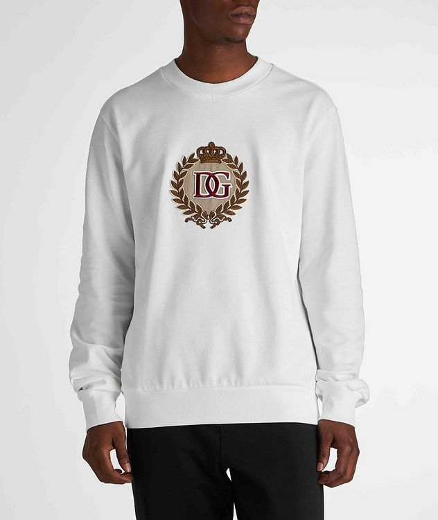Embroidered Cotton Sweatshirt picture 2