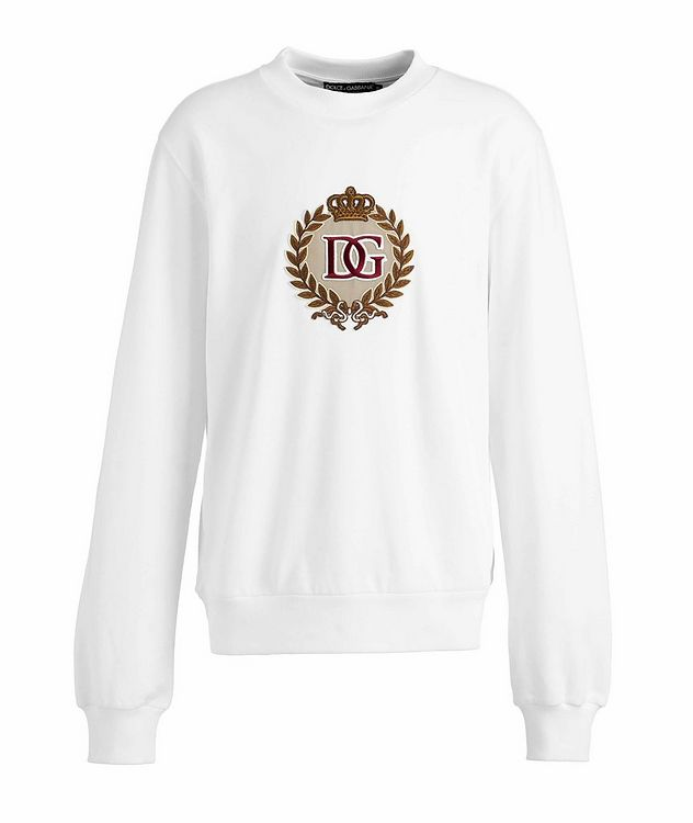 Embroidered Cotton Sweatshirt picture 1