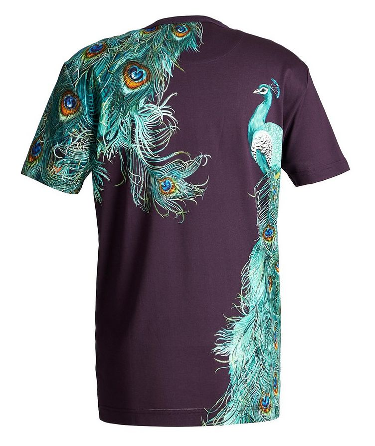 Peacock Cotton T-Shirt image 1