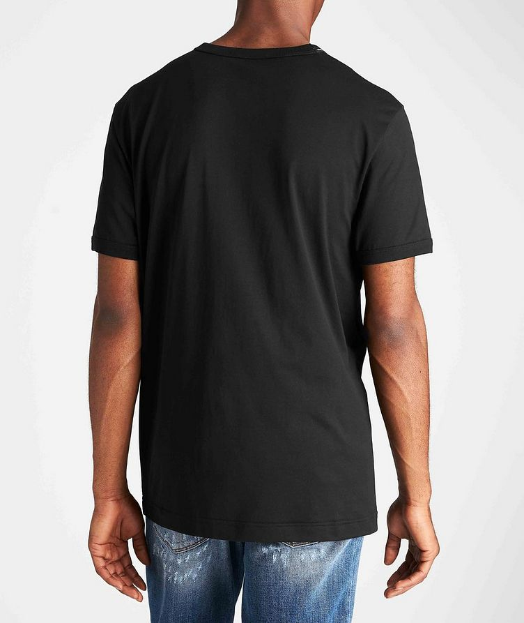 Embroidered Cotton T-Shirt image 2
