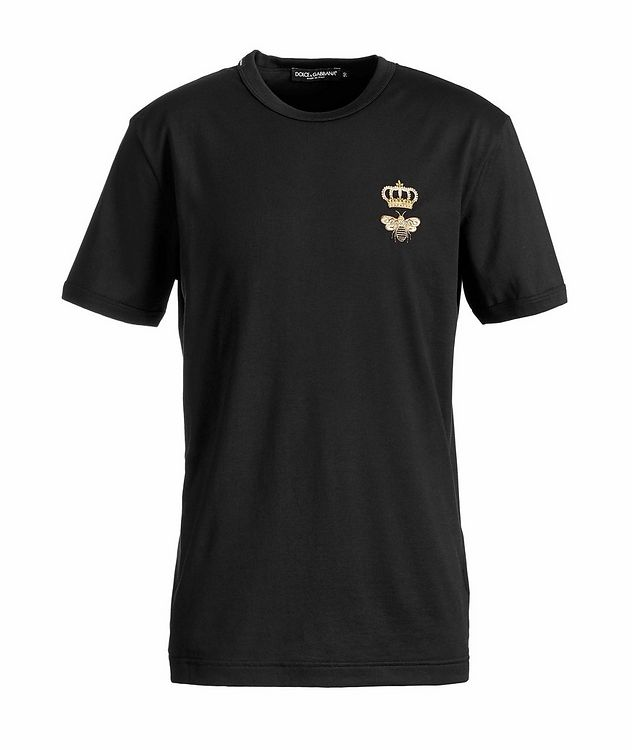 Embroidered Cotton T-Shirt picture 1