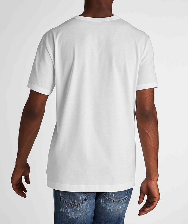 Embroidered Cotton T-Shirt picture 3