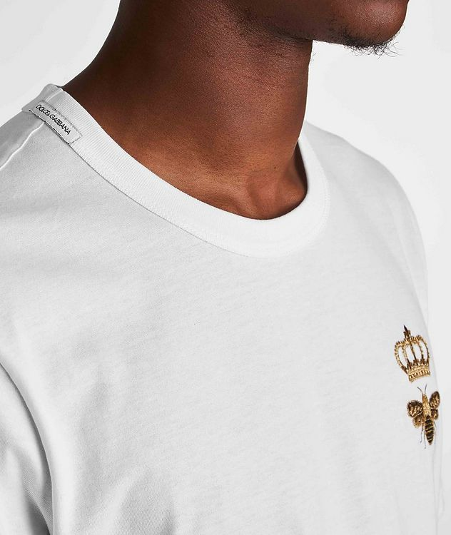 Embroidered Cotton T-Shirt picture 4
