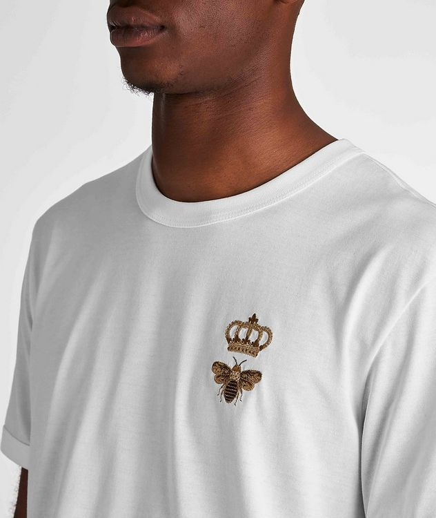 Embroidered Cotton T-Shirt picture 5