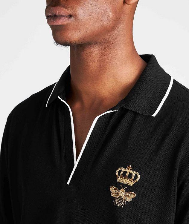 Embroidered Cotton Polo picture 4