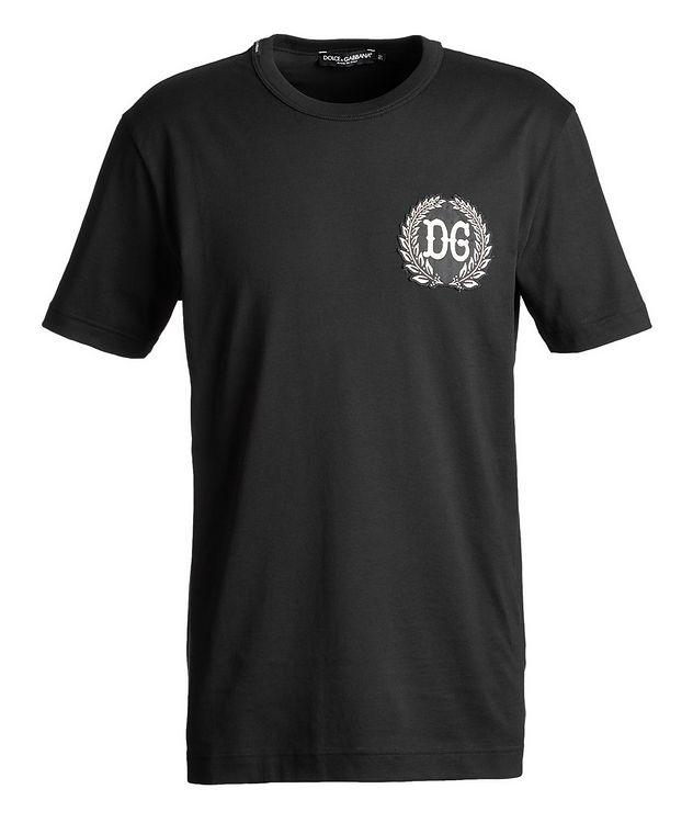 T-shirt brodé en coton picture 1