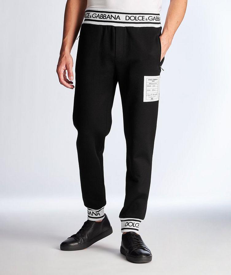 Pantalon de survêtement avec logos image 0