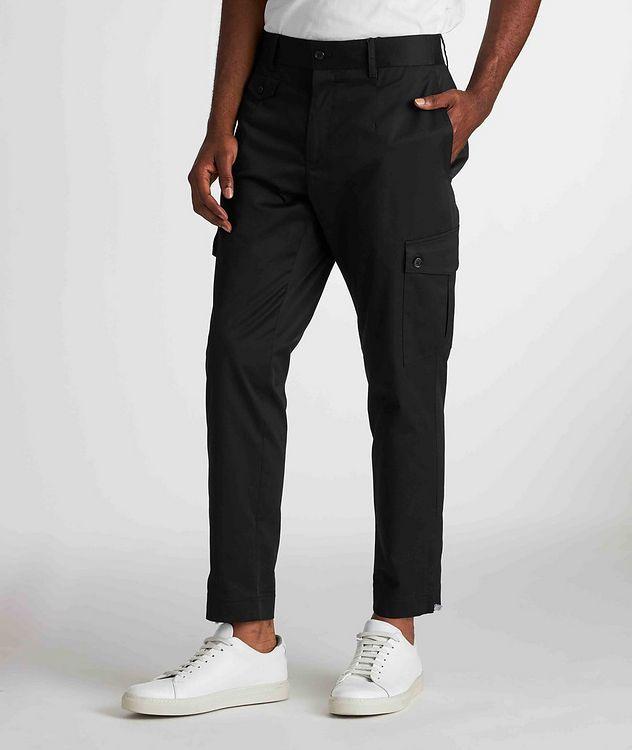 Pantalon en coton extensible à poches cargo picture 2