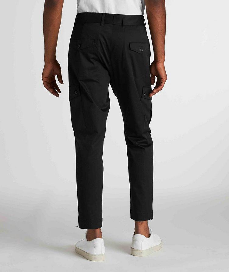 Pantalon en coton extensible à poches cargo image 2
