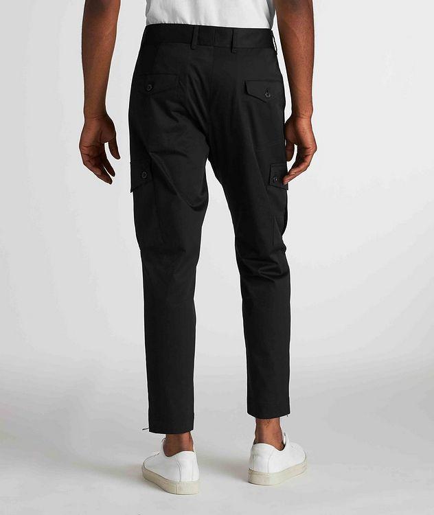 Pantalon en coton extensible à poches cargo picture 3